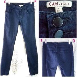 """CAbi """"Lou Lou"""" Black Stretch Jeans"""